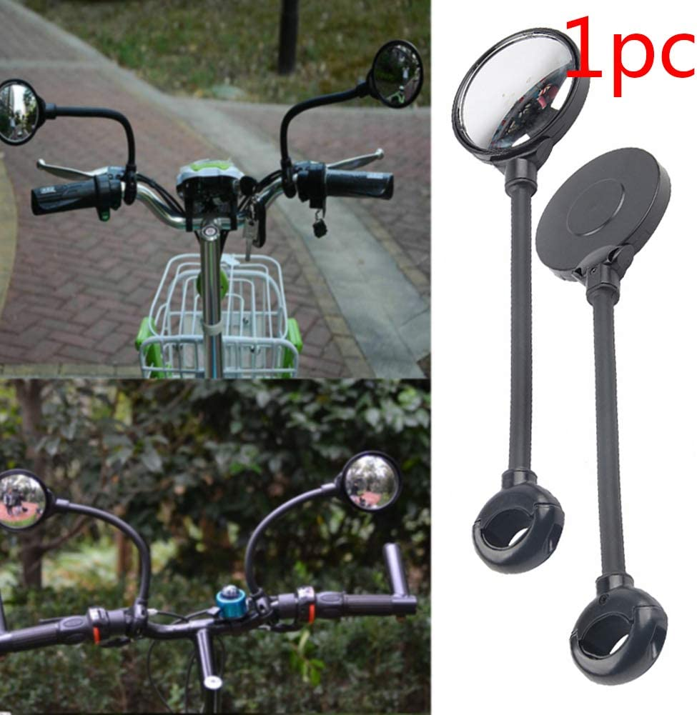 Matedepreso Bicycle Cycling Rear View Mirrors 360/°Rotatable Adjustable Bar End Bike Mirrors Bike Replacement Parts
