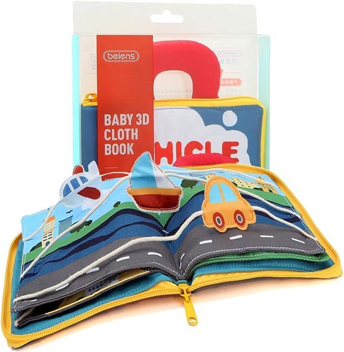 Felt Activity Book Eco friendly Dollhouse Quiet Book Sensory Toy Educational toy fine motor skills toys Felt book