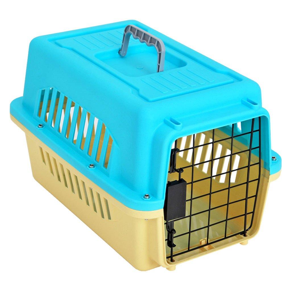 Scatola da viaggio per animali domestici, scatola di trasporto in uscita portatile per cani, scatola per l'aria, gabbia per cani da teddy, scatola per trasporto aereo, scatola per spedizione per gatti