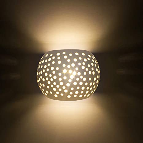 Sobrovo LED Wall Sconces Modern Wall Lighting With7W LED G9 Cap Type ...