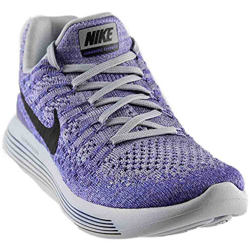NIKE Women's Lunarepic Low Flyknit 2 Running Shoe Purple