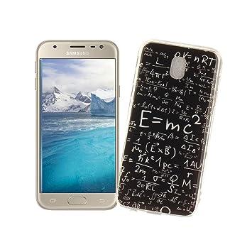 AllDo Funda Silicona para Samsung Galaxy J5 2017 SM-J530F Carcasa Protectora Caso Suave TPU Funda Ultra Delgado Carcasa Flexible Ligero Caja Anti ...