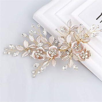 Amazon Com 1pcs Hair Combs For Bridal Handmade Wedding Jewelry