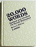 Twenty Thousand Words, Louis A. Leslie, 0070373930
