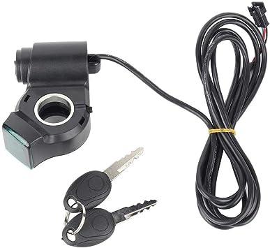 Acelerador eléctrico para Bicicleta, Ligero, portátil, indicador de ...