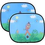 Universell Auto Sonnenschutz Baby IntiPal 2 St. Sonnenblende für Kinder Autosonnenschutz