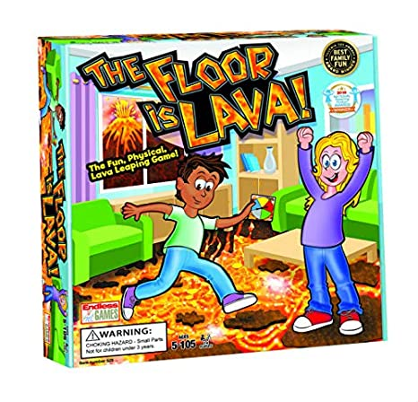 Amazon Com The Floor Is Lava Interactive Game For Kids And Adults