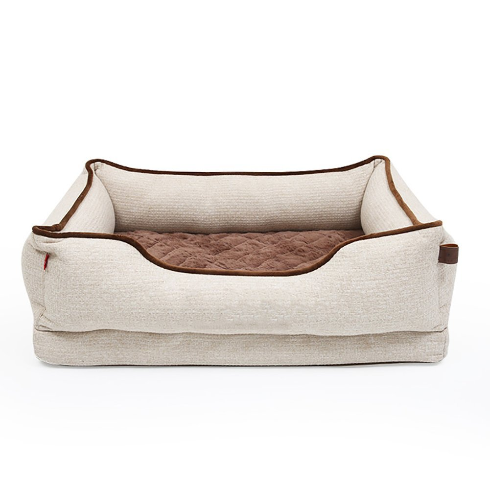 X-Large Kennel Removable Dog Mattress Pet Supplies, Medium and Large Dog Bed Predects The Spine, Size Optional