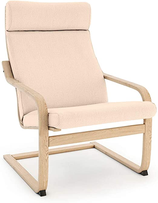 NO ZIPPER-Tailor Made For IKEA Poang Arm Chair NEW DESIGN EASY FIT Slipcover