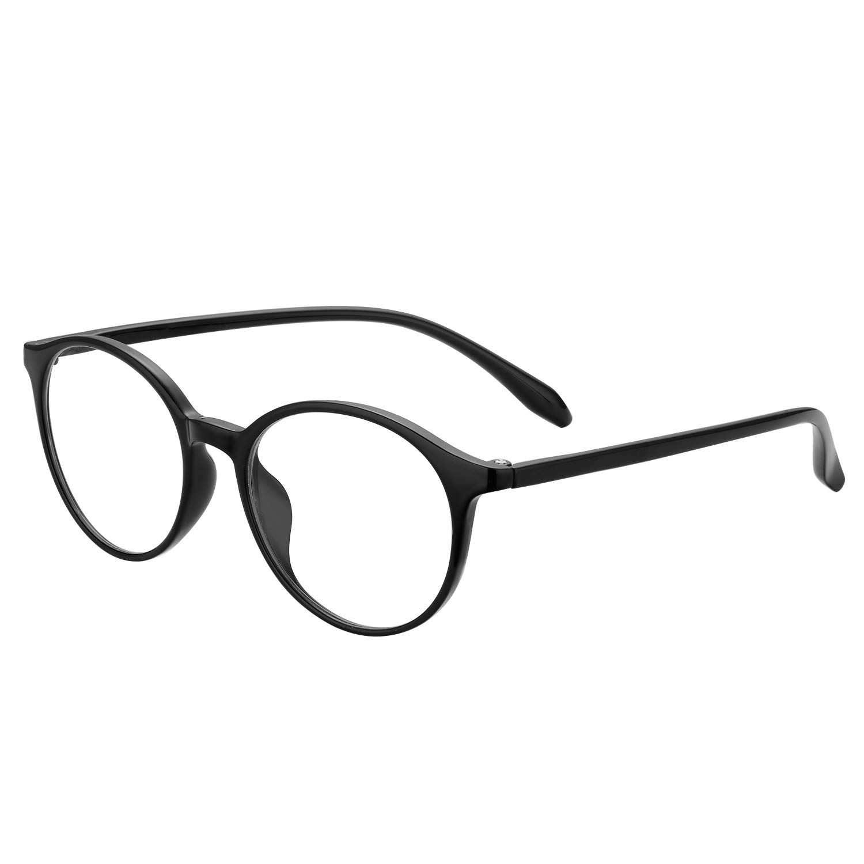 Blue Light Blocking Glasses Nouritty Lightweight Anti-Glare Computer Reading Glasses Reduce Eyestrain