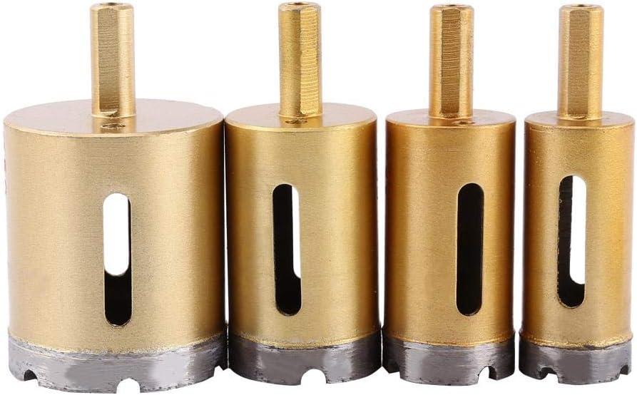 35mm Akozon 1 pc Diamant Tr/épan Scie Outil Pour Pierre De Verre En Marbre En C/éramique Taille En Option 6mm-50mm