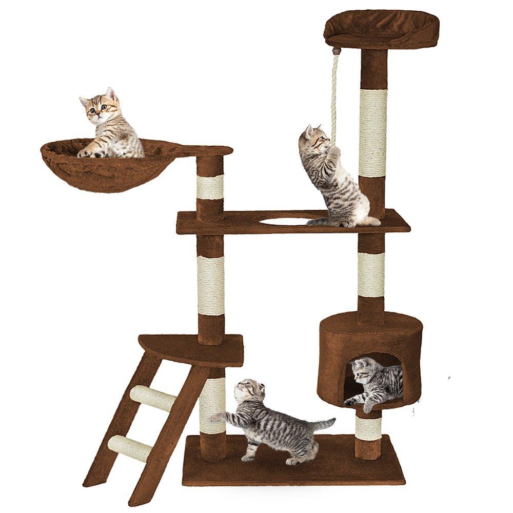 Grigio   No. 401243 Disponibile in Diversi Colori TecTake Tiragraffi per Gatto Gioco Gatti
