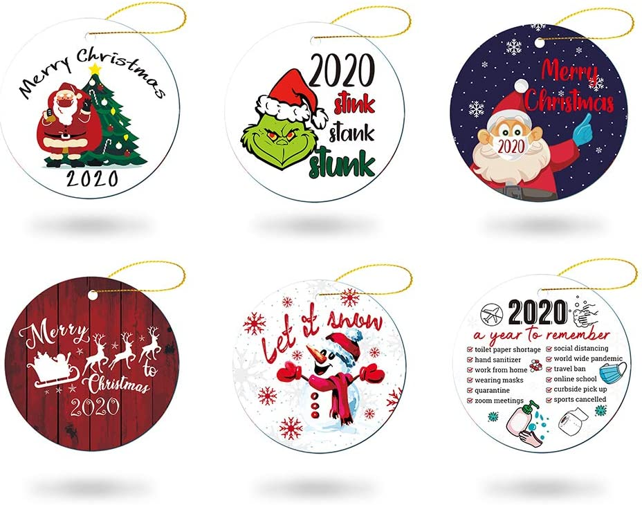 2020 A Year to Remember Merry Christmas Ornament NEW