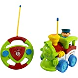 Cartoon R/C Train Car Radio Control Toy for Toddlers by Liberty Imports (ENGLISH Packaging)