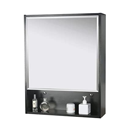 Etonnant Eclife 22u0026quot; X 28u0027u0027 Large Storage Bathroom Medicine Cabinet Organizer Mirror  Storage Wood