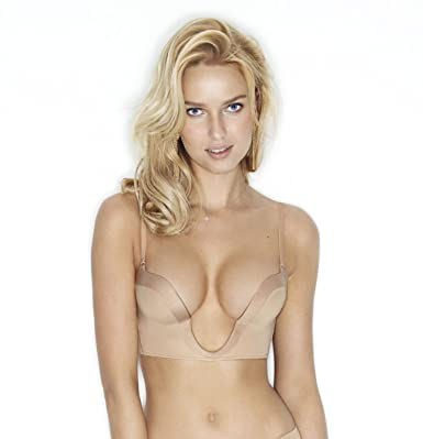 a8de8f99f9 Wonderbra Ultimate Plunge Bra W00J5 Skin  Amazon.co.uk  Clothing