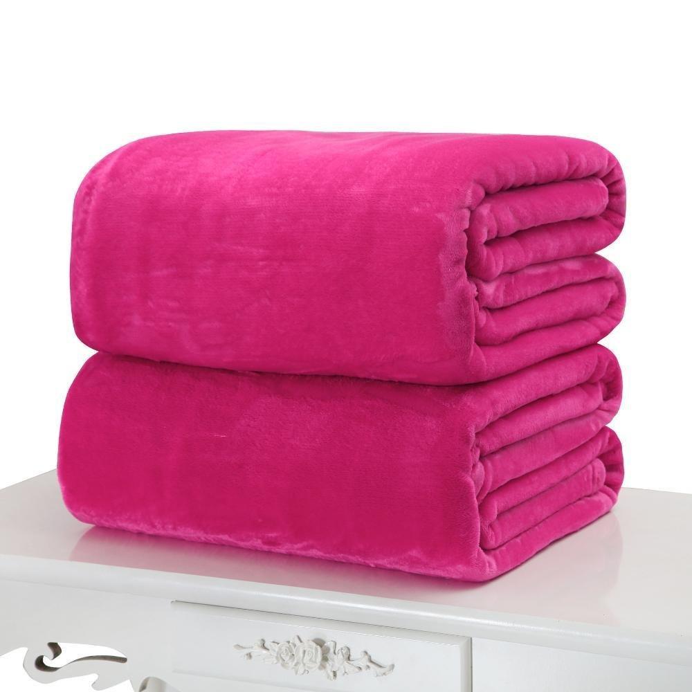 C 100100cm C 100100cm WUTOLUO Pet Bolster Dog Bed Comfort Pet Blanket Flannel Coral velvet sheet Little Blanket (color   C, Size   100  100cm)