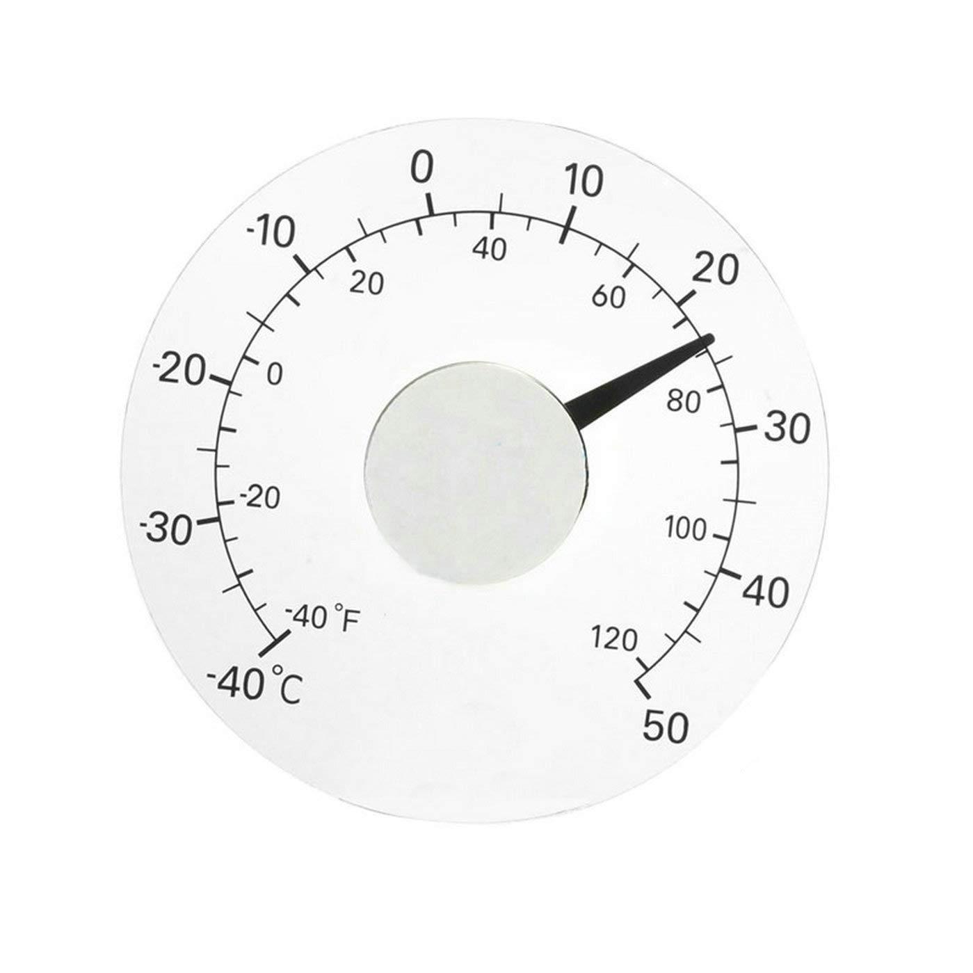 GuDoQi Termometro Della Finestra Temperatura Di Misura Per Uso Domestico Esterno Dell'Automobile QBY