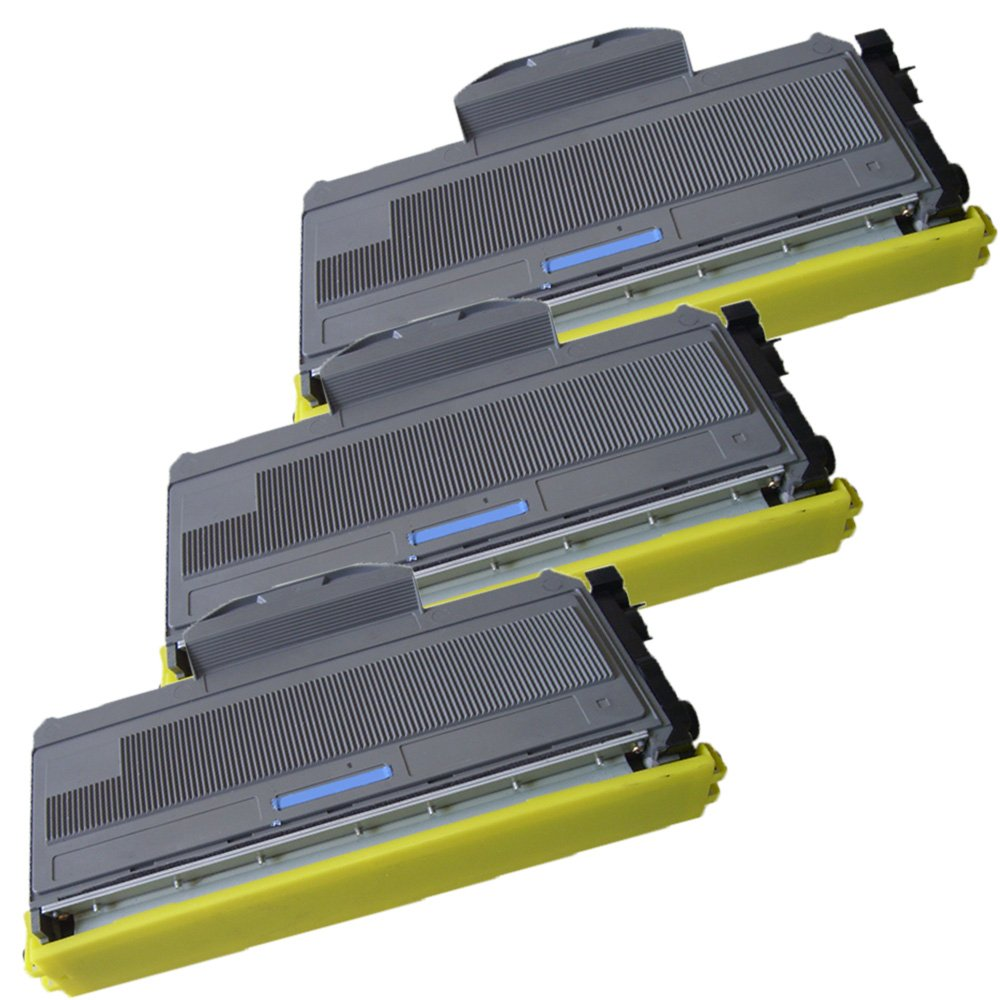 3 High Yield Ink First Toner Cartridges TN-360 (TN360) Compatible Remanufactured for Brother TN-360 Black IF-BRTN360-3P