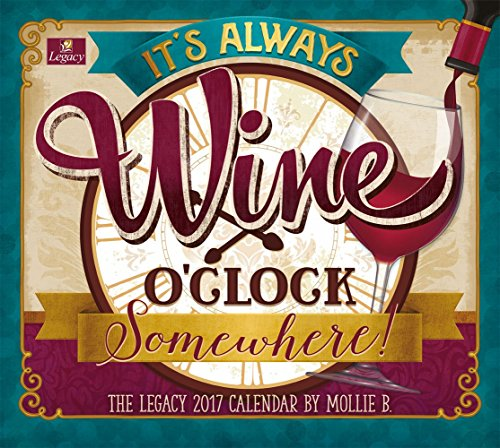Legacy Publishing Group 2017 Wall Calendar, Wine