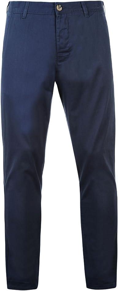 Kangol Hombre Pantalones Estilo Chino Amazon Es Ropa Y Accesorios