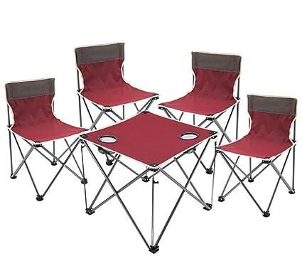 Silla de playa conjunto de mesa y sillas de exterior de ...