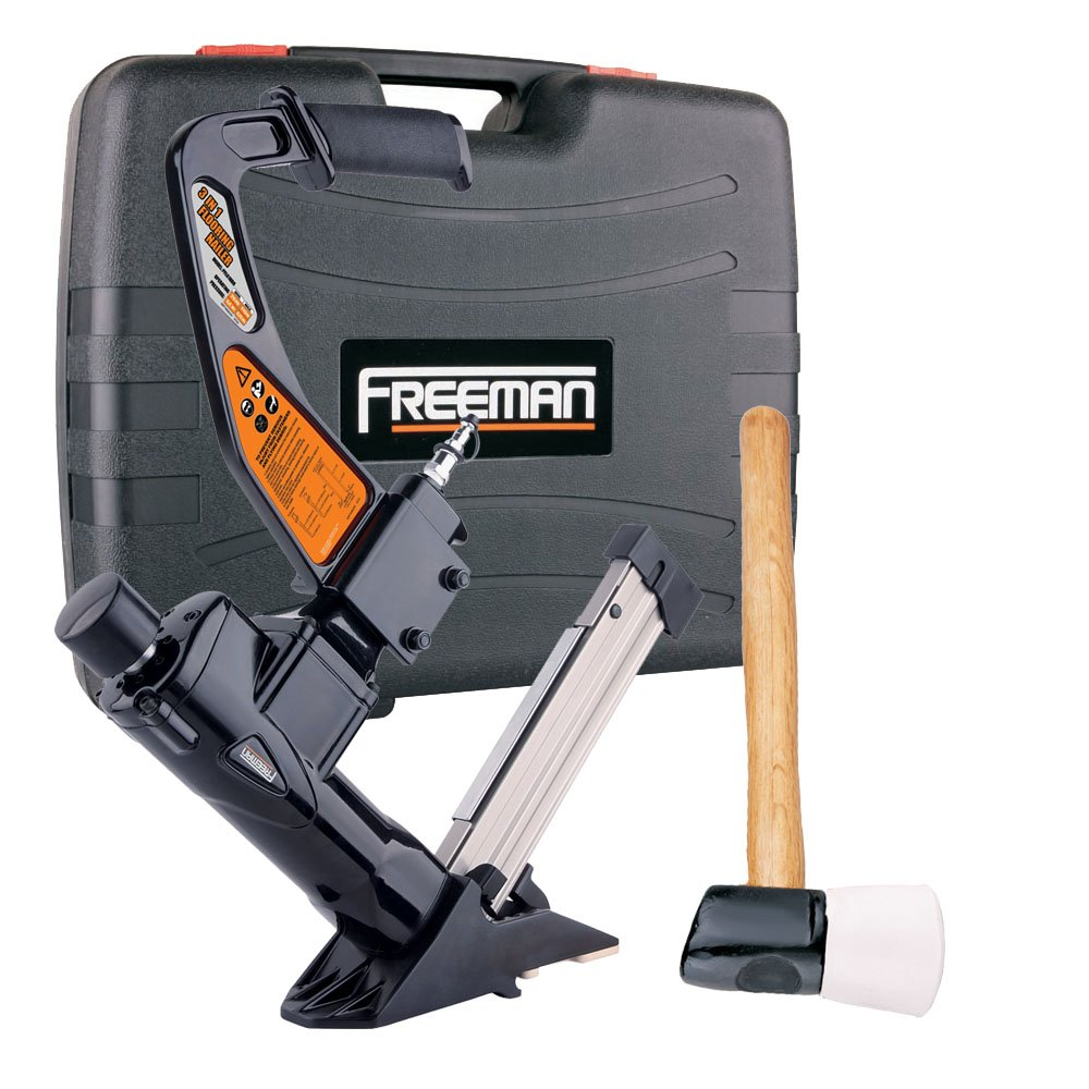 Freeman PFLBR In Pneumatic Flooring Nailer Power Flooring - Hardwood floor nail gun