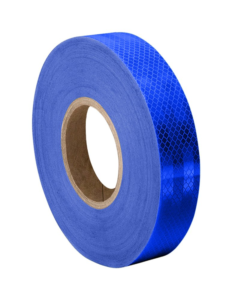 3M 3435 Blue Reflective Tape Roll – 1.125 in. x