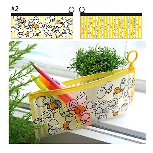 Sanrio Gudetama Lazy Egg Multi Purpose Pouch Slim Pencil Case : #2 Eggs