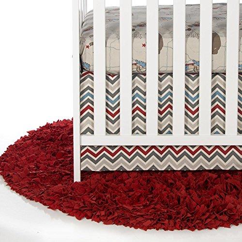Happy Trails 2 Piece Baby Crib Bedding Starter Set by Sweet Potato
