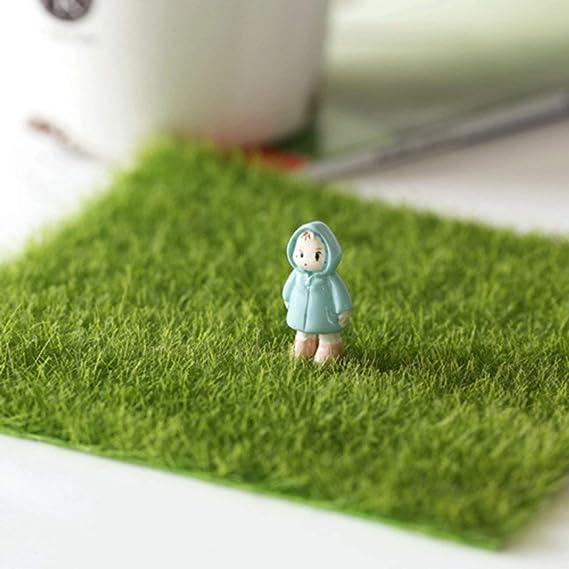 6X Miniature Tree Diy Ornament Decor Craft F// Fairy Garden Dollhouse Plant L/_D