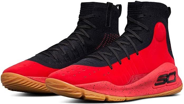 Under Armour Curry 4 niños Zapatillas de Baloncesto, Rojo, 7 M US ...