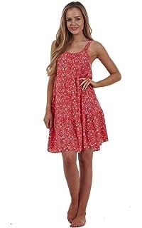 Beach Cover Sun Dress ~UK 16~ Gorgeous M/&S COLLECTION Red Sleeveless Dress