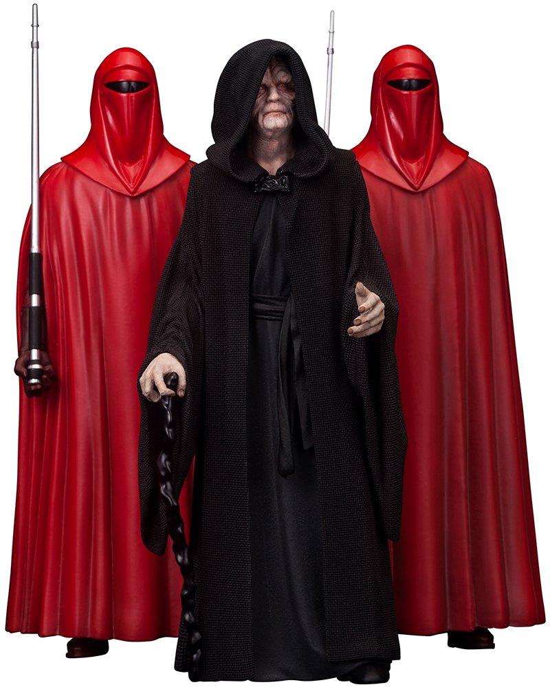 Kotobukiya Star Wars Estatuas Emperor Palpatine  The Royal Guards (ARTFX 1/10