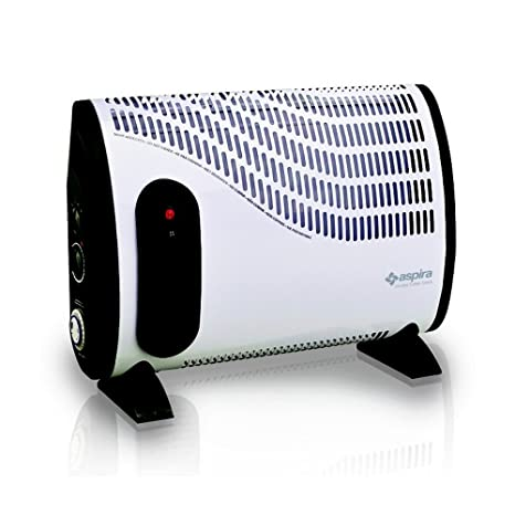 Termoconvettore stufa elettrica CH6000TT Aspira - potenza 2000 watt con  Turbo e Timer