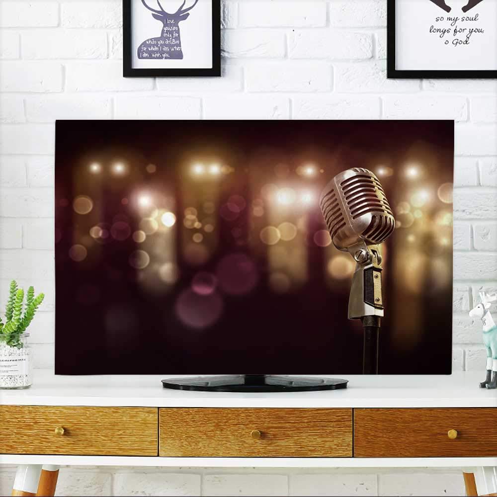 PRUNUS あなたのTVを愛用するビンテージステアリングホイールを編集可能なEPSベクターを使用 グラデーションメッシュと透明度 テレビを保護 幅19 x 高さ30 インチ/テレビ32インチ W35 x H55 INCH/TV 60