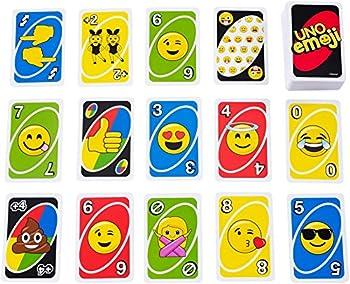 Mattel Games Uno Emoji Card Game 2