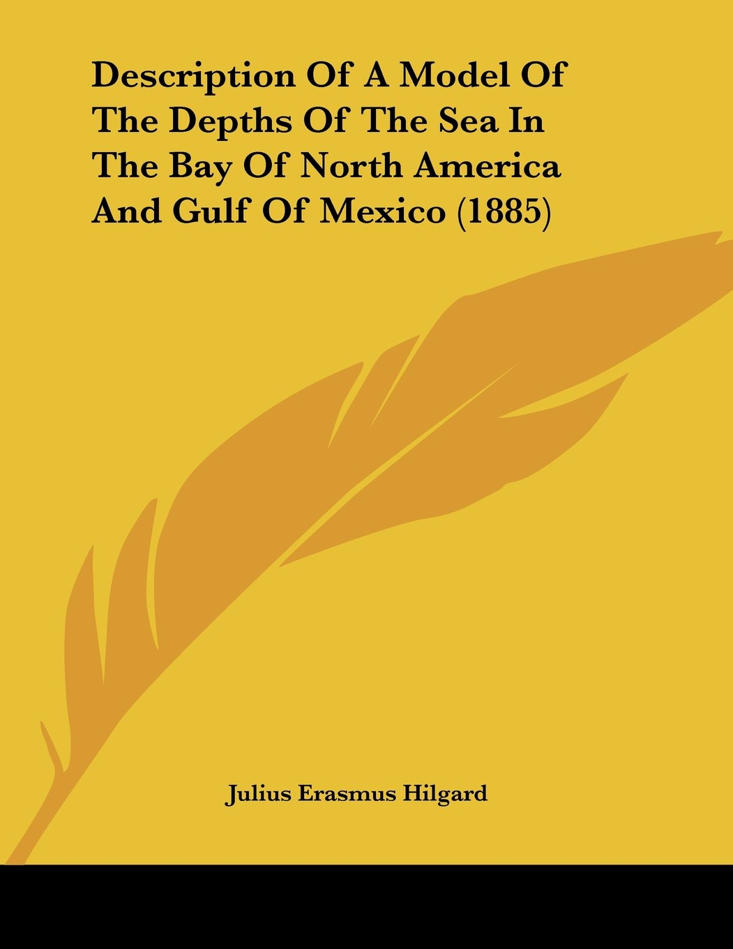 Read Online Description Of A Model Of The Depths Of The Sea In The Bay Of North America And Gulf Of Mexico (1885) pdf epub