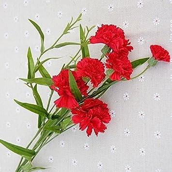 Lameida Kunstliche Blumen Bouquet Strausse Blume Home Dekoration