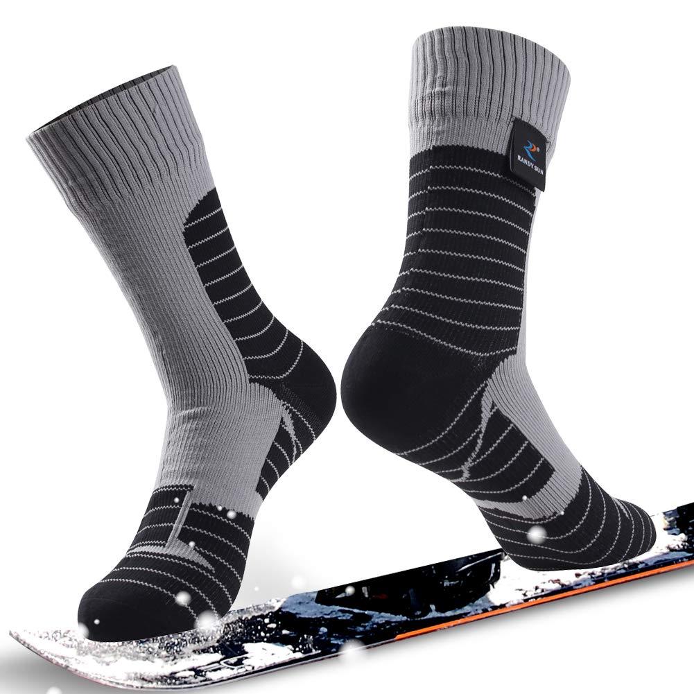 通気性防水ソックス、[ SGS認定]ランディSunユニセックス通気スキートレッキングハイキングソックス B07P1BG6XF Mid 1 Pair-Grey-Waterproof Calf Mid Calf Socks Socks Medium Medium 1 Pair-Grey-Waterproof Mid Calf Socks, Samantha Thavasa サマンサタバサ:d1526e59 --- ero-shop-kupidon.ru
