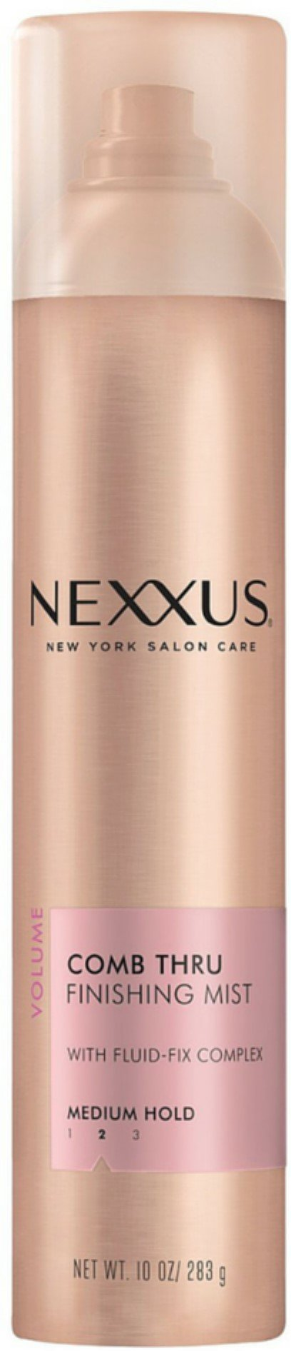 NEXXUS COMB THRU Natural Hold Design and Finishing Mist 10 oz (Pack of 12)