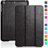 iPad mini case, INVELLOP Black Leatherette Case Cover for Apple iPad mini/iPad mini 2/iPad mini 3 (Black)