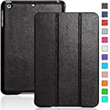 invellop ipad mini case - iPad mini case, INVELLOP Black Leatherette Case Cover for Apple iPad mini/iPad mini 2/iPad mini 3 (Black)