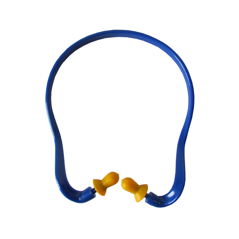 Tourbon Hunting Shooting Ear Plugs Hearing Protection Noise Reducer U Band Earplug Dispensers - Blue Tourbon Safari Store