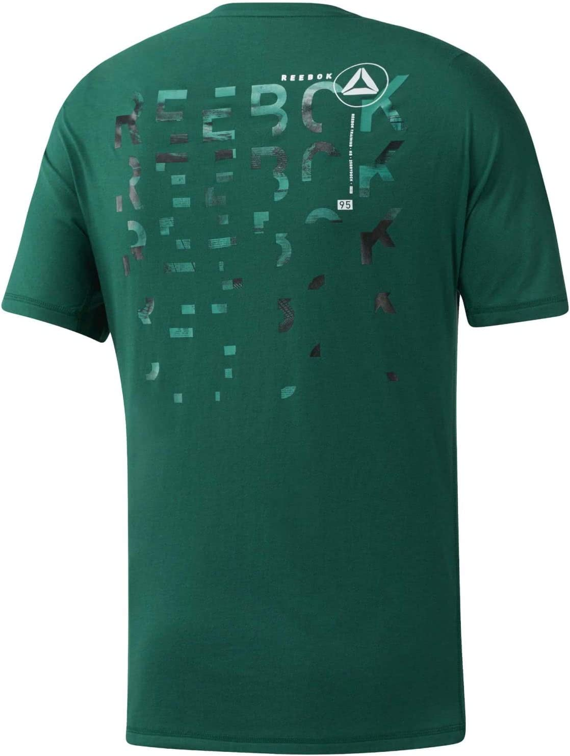 Silber Reebok Herren One Series Training Speedwick T-Shirt Gr/ün