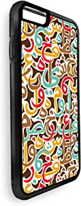Arabic letters scattered Printed Case for iPhone 7