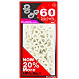 60 x Mini Gutter Hooks, FREE UK DELIVERY,S4U® Gutter Hook Multi Pack For Securing Lights To Guttering