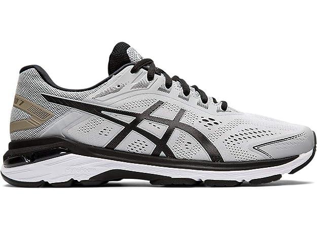 ASICS Men's GT-2000 7 Running Shoes, 7M, MID Grey/Black