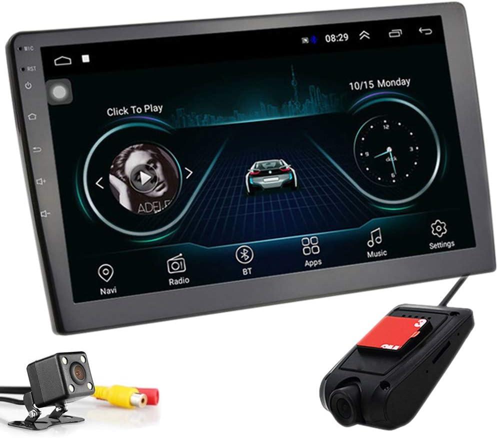 PolarLander 10 Pulgadas Android 8.1 Autoradio Bluetooth Universal 2 DIN Radio de Coche Android Reproductor estéreo Navegación GPS WiFi Bluetooth ...