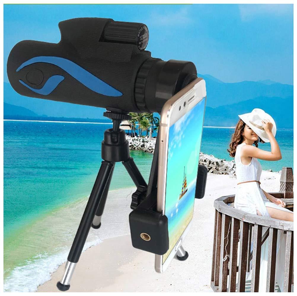超安い品質 QWEYA HDハイライトシマー 12X50利用可能 12X50利用可能 携帯電話スタンド QWEYA アウトドア単眼鏡 ハンティング スマートフォンアダプター三脚付き バードウォッチング ハンティング キャンプ 観光用 B07Q4P7QFR, AsianTyphoOon:6355f2ad --- berkultura.ru